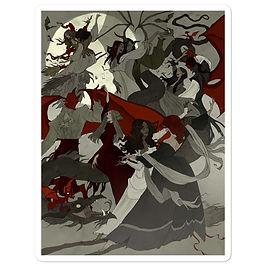 """Stickers """"Hexennaught"""" by AbigailLarson"""