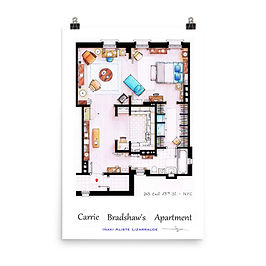 """Poster """"Carrie Bradshaw"""" by NikNeuk"""