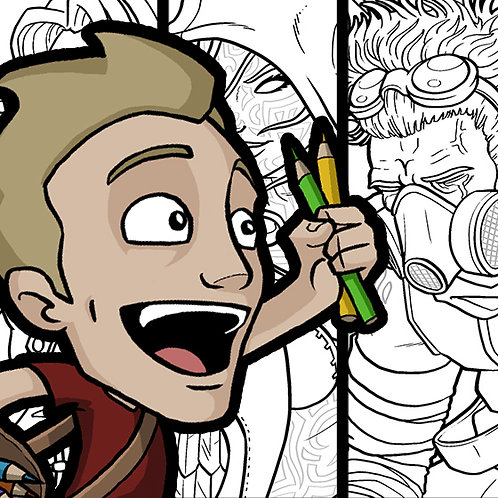 Jazza's Coloring eBook!