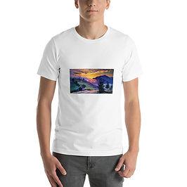 """T-Shirt """"Evening 4"""" by Gudzart"""