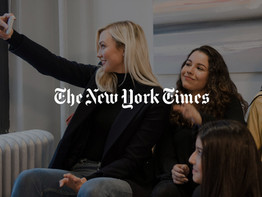 Karlie Kloss Teaches Teenage Girls How to Code
