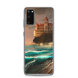 """Samsung Case """"Cliff House"""" by chateaugrief"""