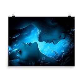 "Poster ""Frozen Diamonds"" by ElenaDudina"