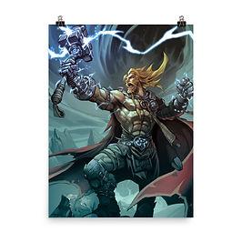 """Poster """"Thor"""" by el-grimlock"""