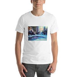 """T-Shirt """"Cold Winter"""" by Gudzart"""