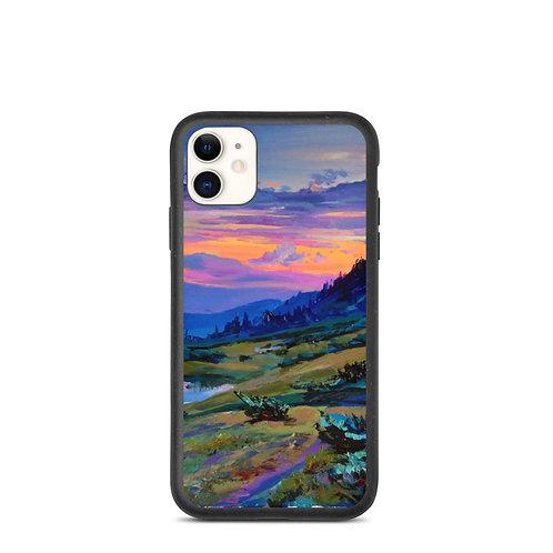 """iPhone case """"Evening 2"""" by Gudzart"""