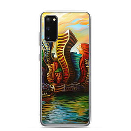 """Samsung Case """"Vancouver Sunrise"""" by LauraZee"""