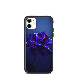 """iPhone case """"Midnight Rose"""" by Lilyas"""