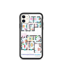 """iPhone case """"The Simpsons"""" by NikNeuk"""