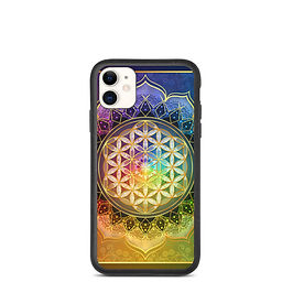 """iPhone case """"Rainbow Flower of Life"""" by Lilyas"""