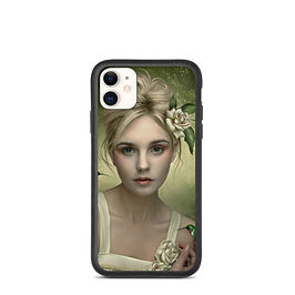 "iPhone case ""Colibries"" by ElenaDudina"