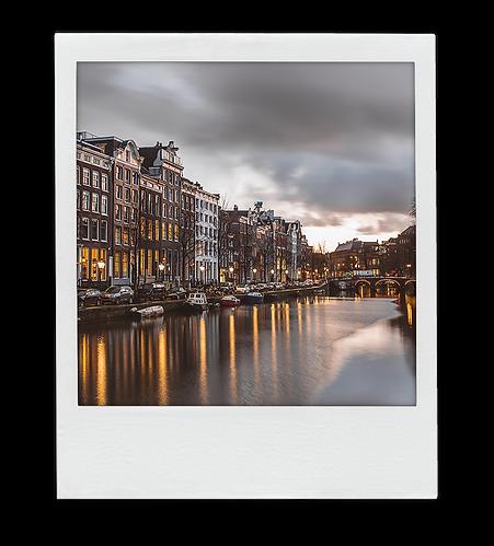Amsterdam Polaroid photo