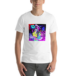 """T-Shirt """"Neon Clouds"""" by MoxxiMonroe"""