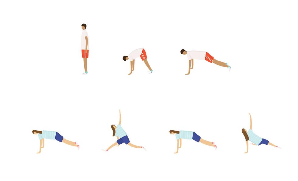 Exercising on Holiday