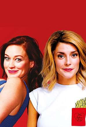 Grace Helbig and Mamrie Hart