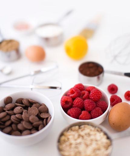 Desserts ingredients