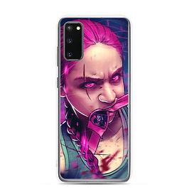 "Samsung Case ""Magenta Rage"" by DasGnomo"