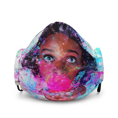 "Mask ""Bubblicious"" by phatpuppyart-studios"