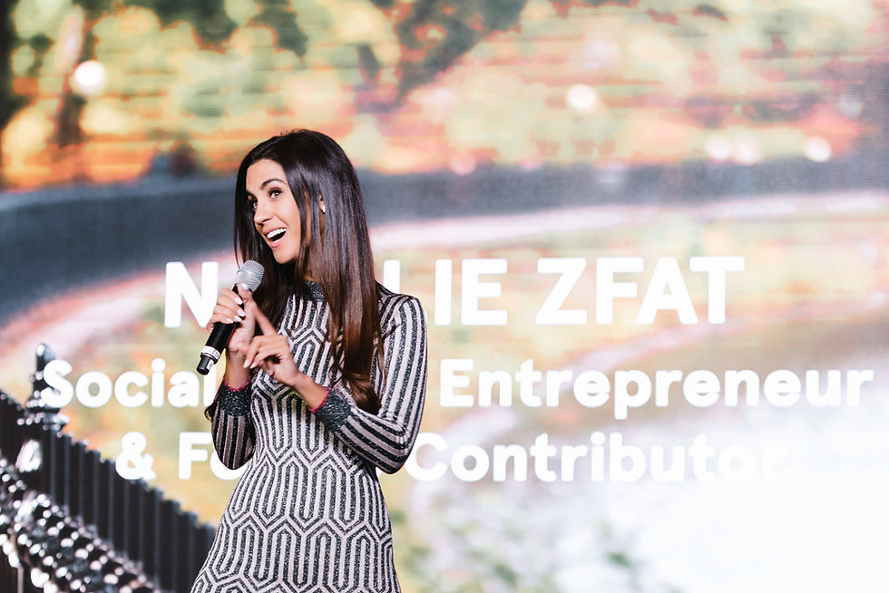 Natalie Zfat - Thought Leadership & Speaking