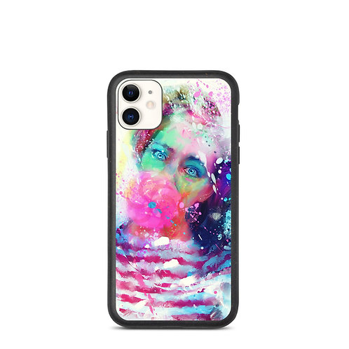 "iPhone case ""Bubble Yum"" by phatpuppyart-studios"