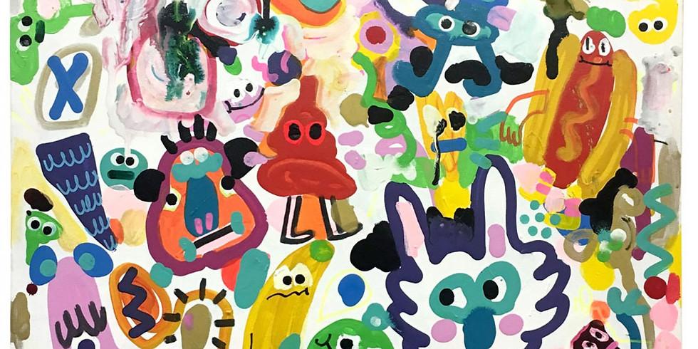 Pop up 'Happy Place' exhibition (1)