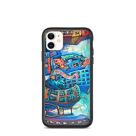 """iPhone case """"DTES"""" by LauraZee"""