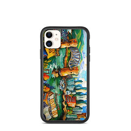 """iPhone case """"Granville Island"""" by LauraZee"""