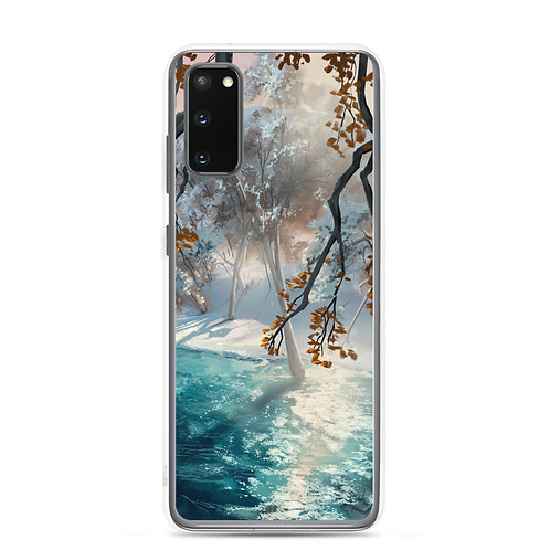 """Samsung Case """"Winter Snow"""" by chateaugrief"""