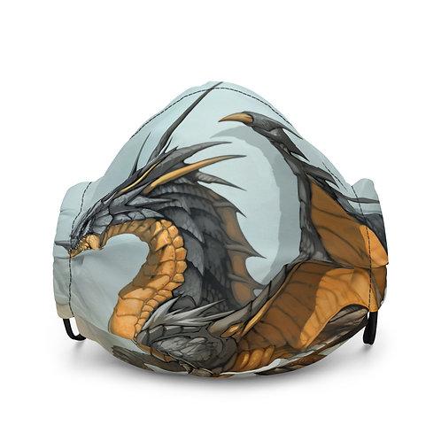 """Mask """"Ash Dragon"""" by el-grimlock"""