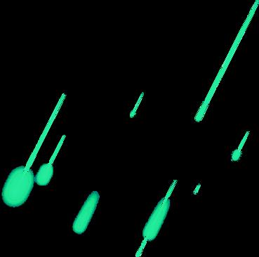 Meteors - Green