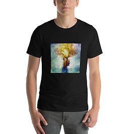 """T-Shirt """"Fountain of Eternity"""" by Aegis-Illustration"""