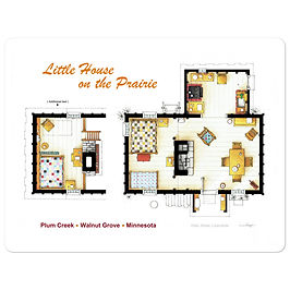 """Stickers """"Little House on the Prairie"""" by NikNeuk"""