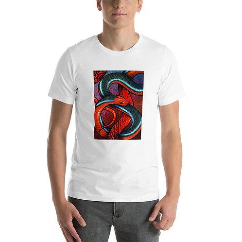 "T-Shirt ""Blue Coral Snake"" by Culpeo-Fox"