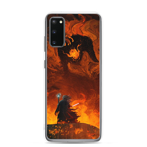 """Samsung Case """"The Shadow and the Flame"""" by Anatofinnstark"""