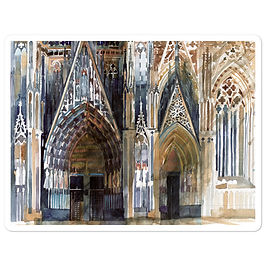 """Stickers """"Koin Cathedral"""" by Takmaj"""