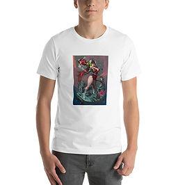 """T-Shirt """"Red Guilt"""" by Elsevilla"""