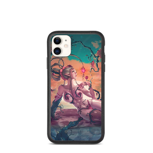 """iPhone case """"Dryad and Fairy"""" by DasGnomo"""