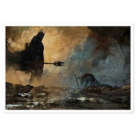 """Stickers """"The Fate of Isildur"""" by Anatofinnstark"""