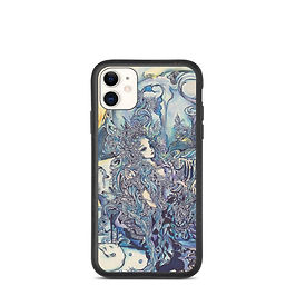 """iPhone case """"Peacock"""" by Hellobaby"""