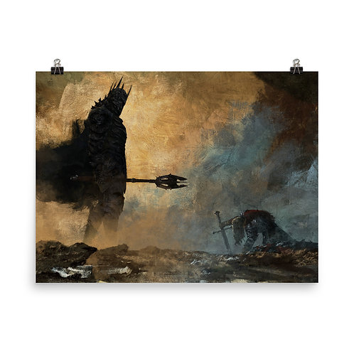 """Poster """"The Fate of Isildur"""" by Anatofinnstark"""