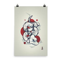 "Poster ""alienprometus"" by remiismeltingdots"