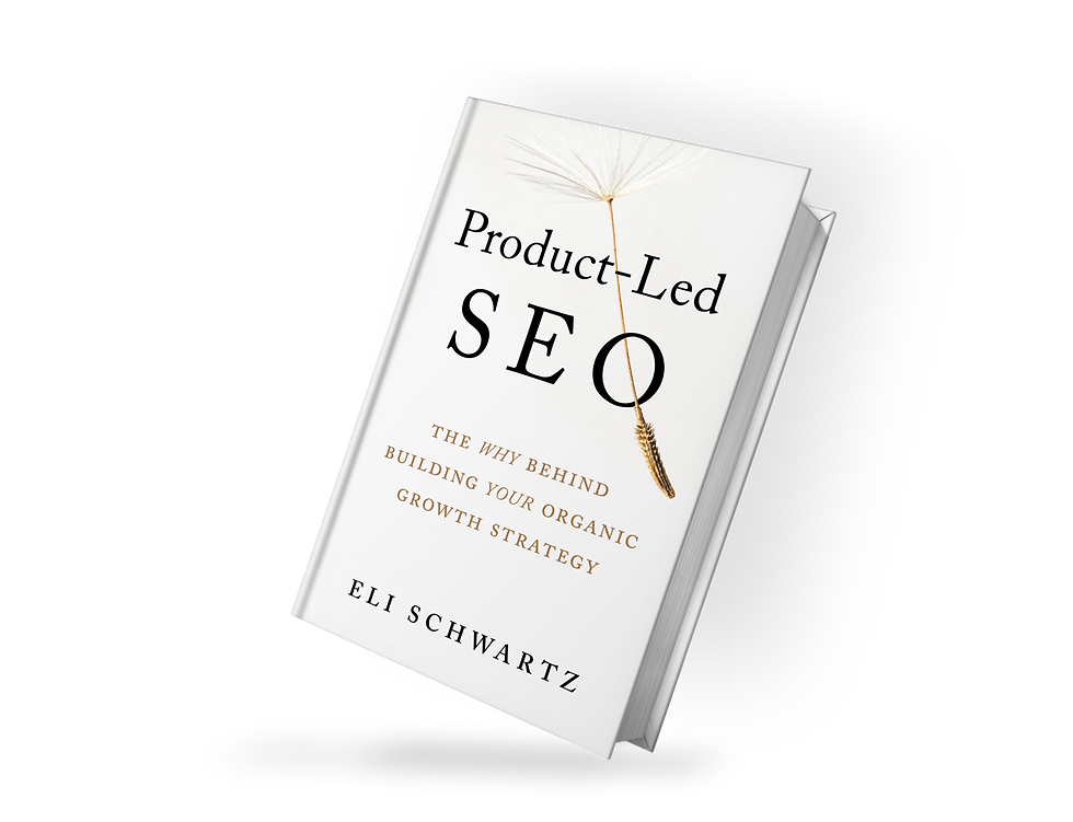 Product-Led SEO book