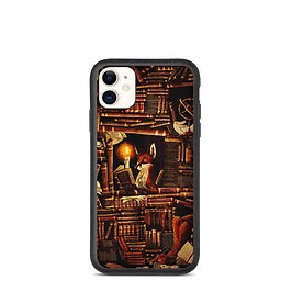 "iPhone case ""Media Overkill"" by Culpeo-Fox"