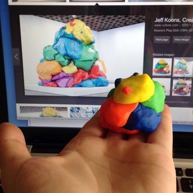 Jeff Koons miniature