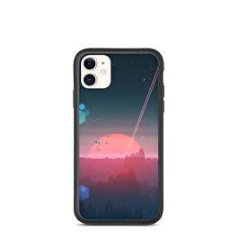 "iPhone case ""Under the Strange Horizon"" by JoeyJazz"