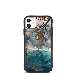 """iPhone case """"Winter Snow"""" by chateaugrief"""