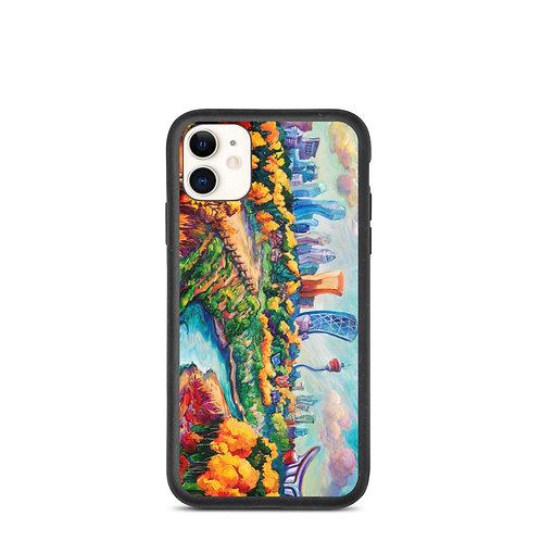 "iPhone case ""Calgary Horizon"" by LauraZee"