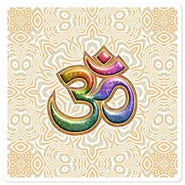 "Stickers ""Sacred Sound Om Aum Mantra"" by Lilyas"