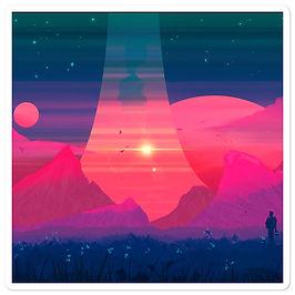 """Stickers """"Dreams in Pastel"""" by JoeyJazz"""