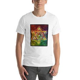 "T-Shirt ""Rainbow Metatron's Cube"" by Lilyas"